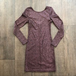 Divided by H&M Metallic Bodycon Dress
